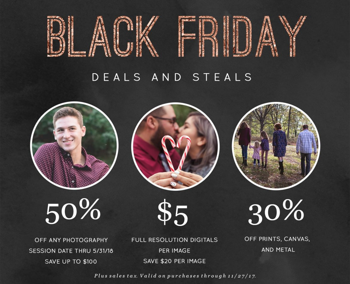 Black Friday Sale – Going Live! : Western PA Photographer